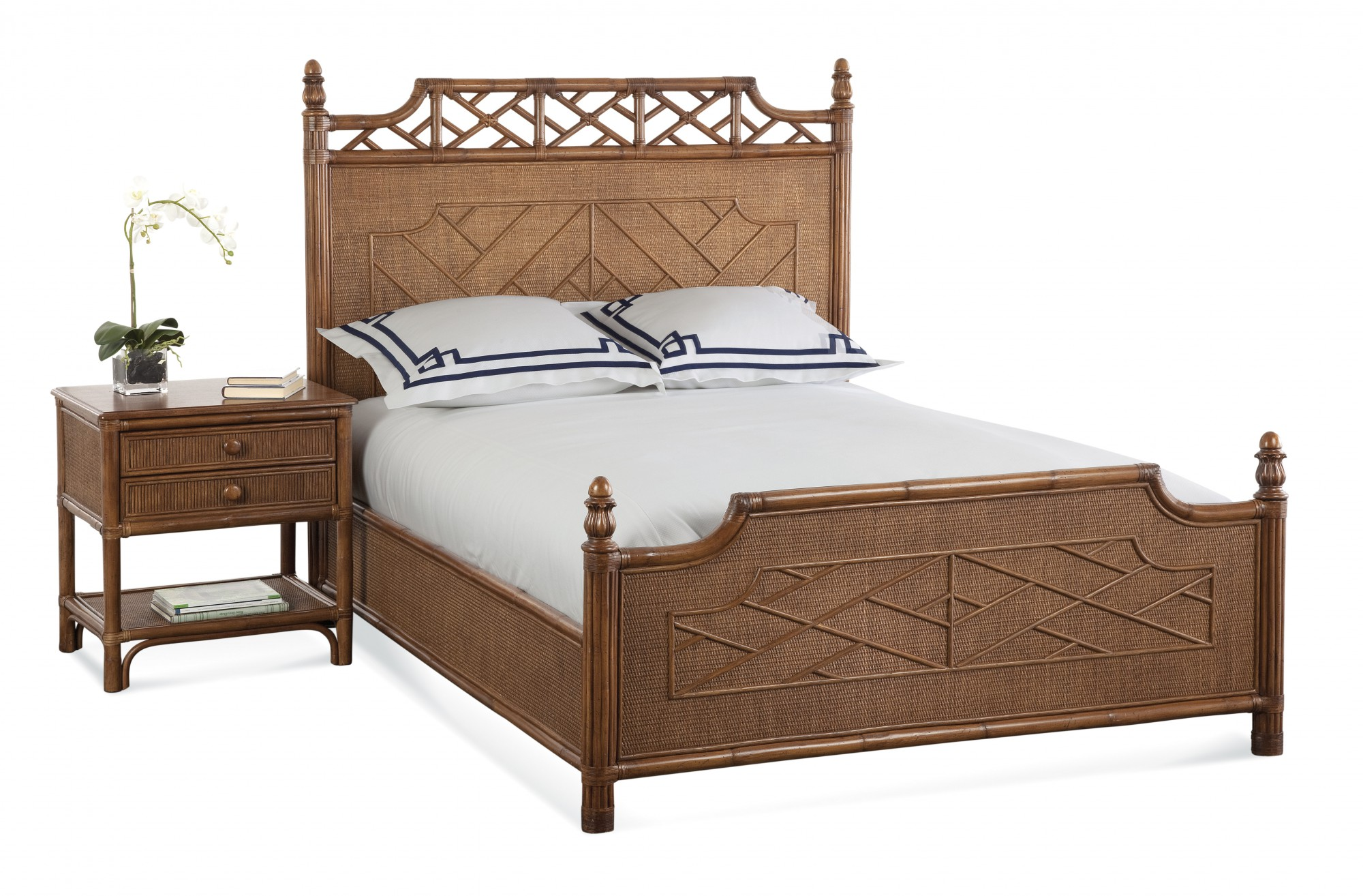 Chippendale bed by Braxton Culler